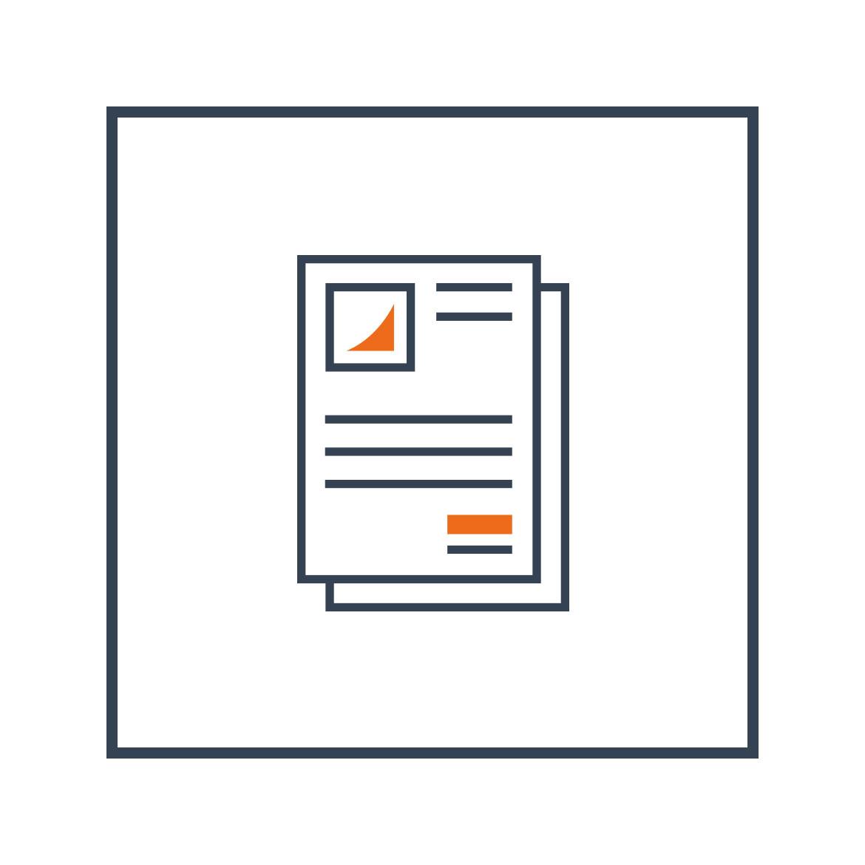 Firmenpapiere-Icon