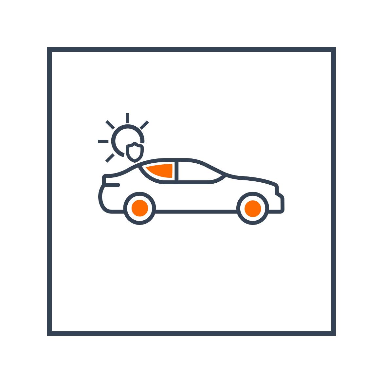 Sonnenschutz-Icon